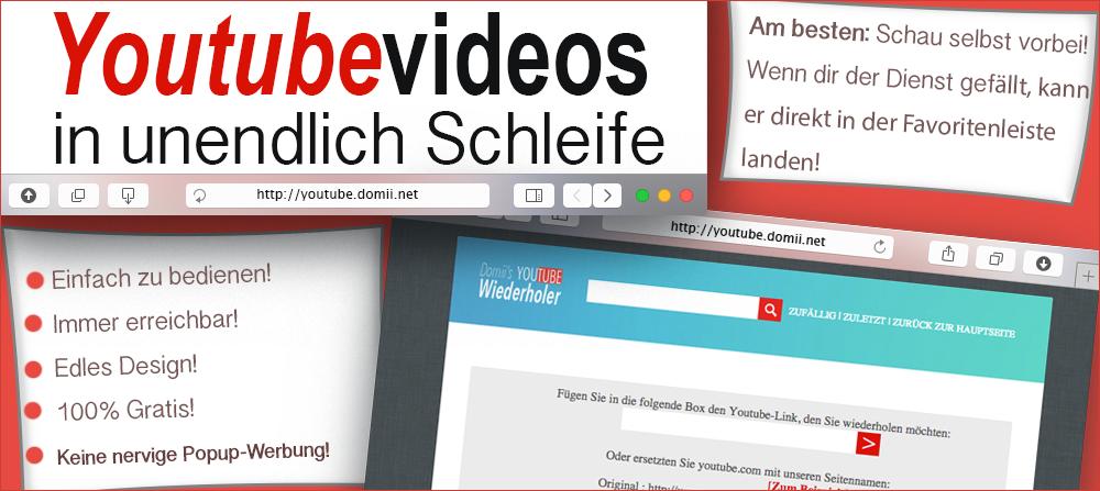Youtube Videos wiederholen automatisch?